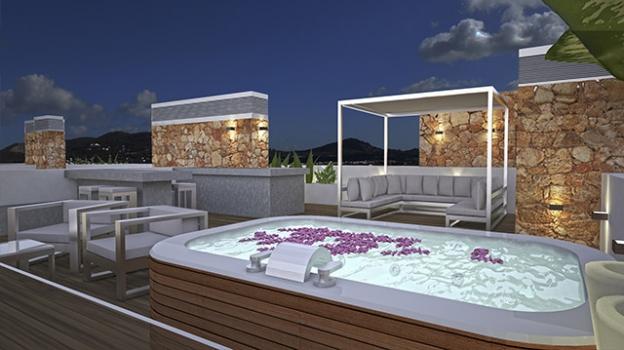 Imagen de Terraza / Patio y Hoteles y Restaurantes